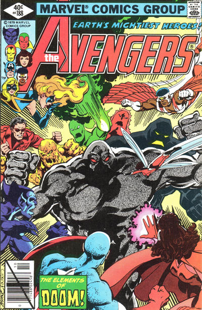 Cover for The Avengers (Marvel, 1963 series) #188 [Newsstand Edition]