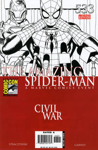 Cover Thumbnail for The Amazing Spider-Man (Marvel, 1999 series) #533 [Limited Edition Variant]