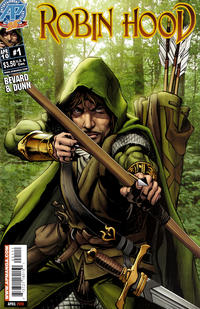 Cover Thumbnail for Robin Hood (Antarctic Press, 2010 series) #1