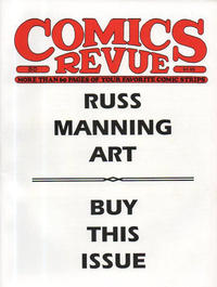 Cover Thumbnail for Comics Revue (Manuscript Press, 1985 series) #80