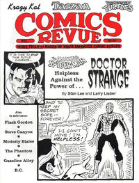 Cover for Comics Revue (Manuscript Press, 1985 series) #82