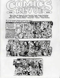 Cover Thumbnail for Comics Revue (Manuscript Press, 1985 series) #156