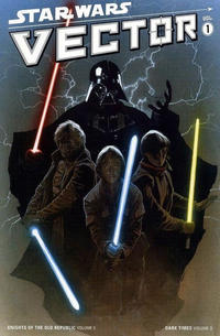 Cover Thumbnail for Star Wars: Knights of the Old Republic (Dark Horse, 2006 series) #5 - Vector Volume One