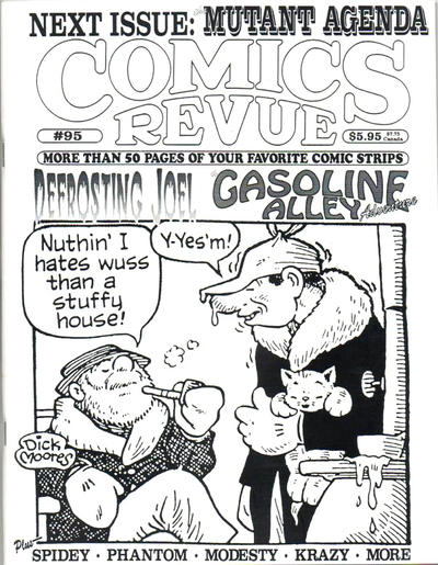 Cover for Comics Revue (Manuscript Press, 1985 series) #95