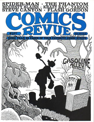 Cover for Comics Revue (Manuscript Press, 1985 series) #107