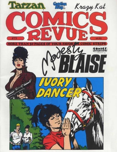 Cover for Comics Revue (Manuscript Press, 1985 series) #73