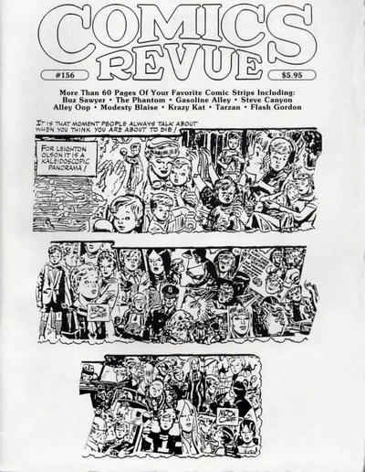 Cover for Comics Revue (Manuscript Press, 1985 series) #156