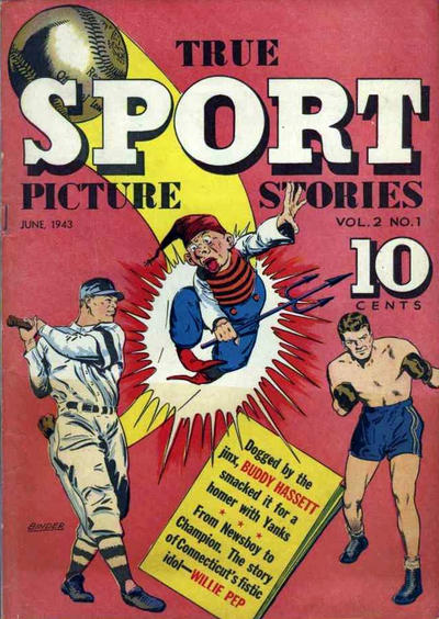 Cover for True Sport Picture Stories (Street and Smith, 1942 series) #v2#1