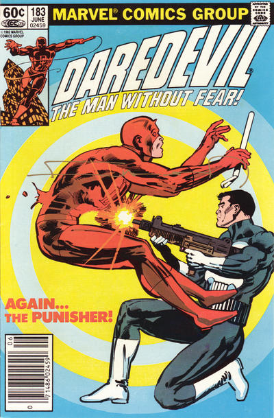 Cover for Daredevil (Marvel, 1964 series) #183 [Newsstand Edition]