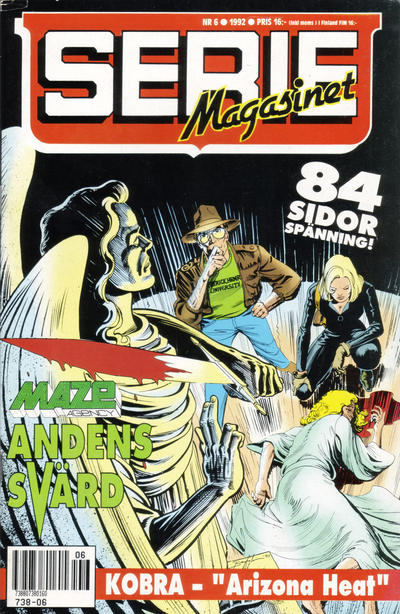 Cover for Seriemagasinet (Semic, 1970 series) #6/1992