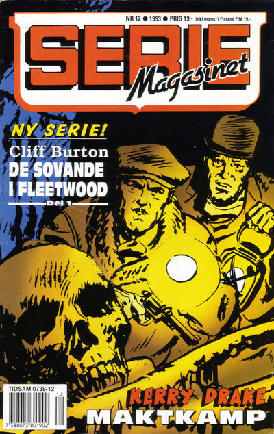 Cover for Seriemagasinet (Semic, 1970 series) #12/1993