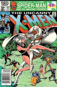 Cover Thumbnail for The Uncanny X-Men (Marvel, 1981 series) #152 [Newsstand]