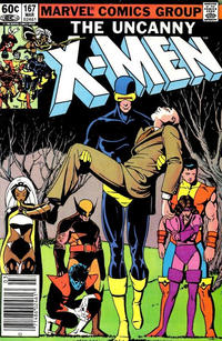 Cover Thumbnail for The Uncanny X-Men (Marvel, 1981 series) #167 [Newsstand Edition]