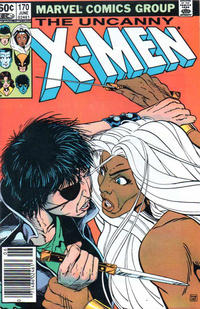 Cover Thumbnail for The Uncanny X-Men (Marvel, 1981 series) #170 [Newsstand Edition]