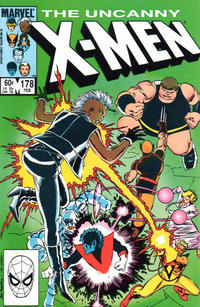 Cover for The Uncanny X-Men (Marvel, 1981 series) #178 [Direct Edition]
