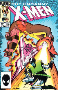 Cover Thumbnail for The Uncanny X-Men (Marvel, 1981 series) #194 [Direct Edition]