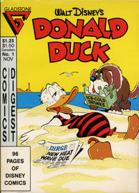 Cover Thumbnail for Donald Duck Comics Digest (Gladstone, 1986 series) #1 [Direct edition]