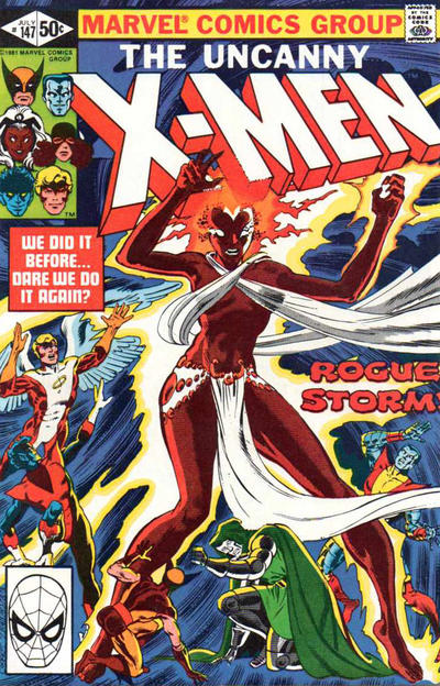 Cover for The Uncanny X-Men (1981 series) #147