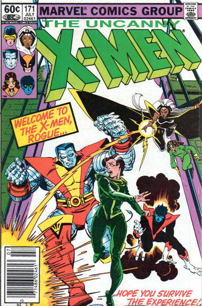 Cover for The Uncanny X-Men (1981 series) #171 [Direct Edition]