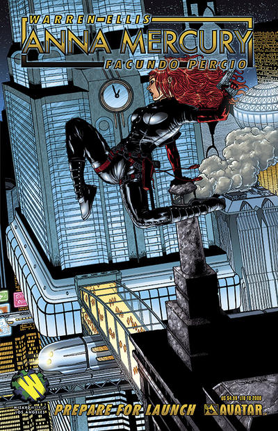 Cover for Anna Mercury: Prepare for Launch (Avatar Press, 2008 series)  [Wizardworld Los Angeles]