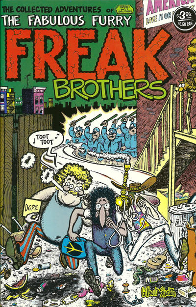 Cover for The Fabulous Furry Freak Brothers (1971 series) #1 [0.60 USD 11th print]