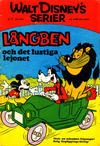 Cover for Walt Disney's serier (Hemmets Journal, 1962 series) #7/1970 - Långben och det lustiga lejonet