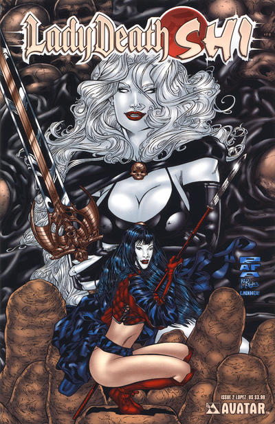 Cover for Lady Death / Shi (2007 series) #2