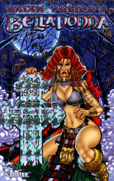 Cover for Brian Pulido's Belladonna (Avatar Press, 2004 series) #1