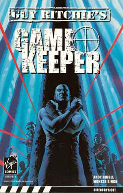 Cover for Gamekeeper (Virgin, 2007 series) #1 [Neelakash K. Cover]