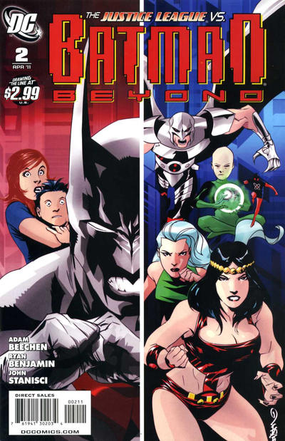 Cover for Batman Beyond (DC, 2011 series) #2