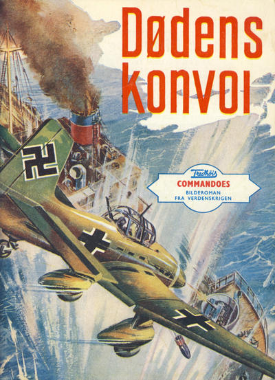 Cover for Commandoes (Fredhøis forlag, 1973 series) #21