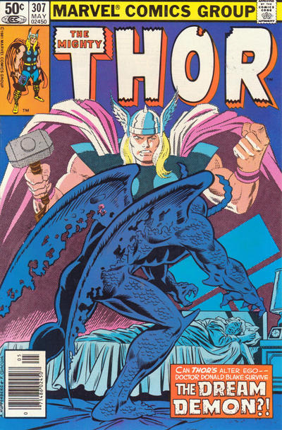 Cover for Thor (Marvel, 1966 series) #307 [Direct]