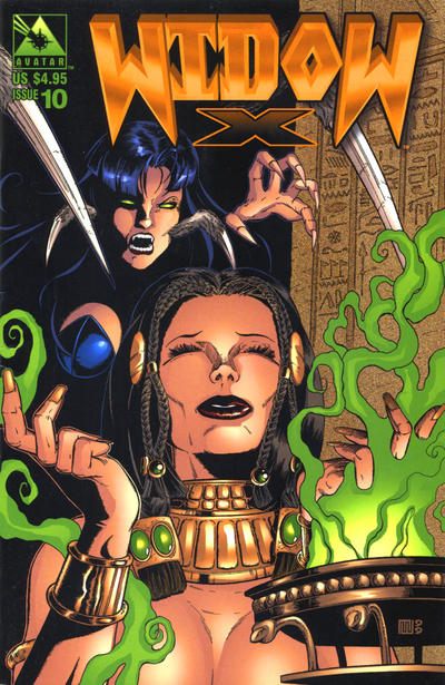 Cover for Widow X (Avatar Press, 1999 series) #10