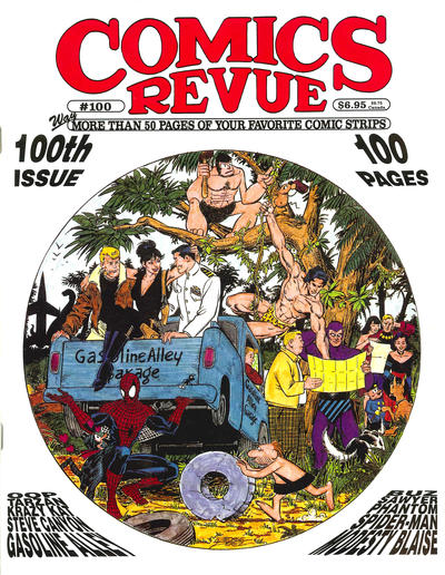 Cover for Comics Revue (Manuscript Press, 1985 series) #100