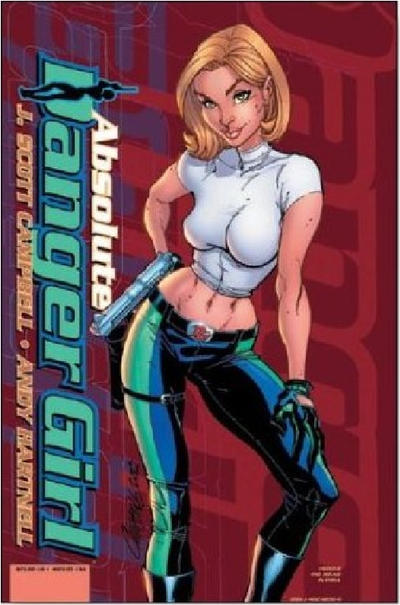 Cover for Absolute Danger Girl (DC, 2003 series)