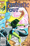 Cover Thumbnail for Fantastic Four (1961 series) #295 [Newsstand Edition]