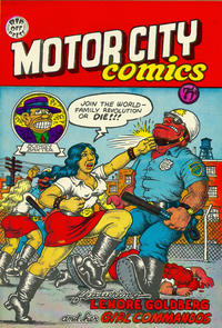 Cover Thumbnail for Motor City Comics (Rip Off Press, 1969 series) #1 [0.75 USD 6th print]