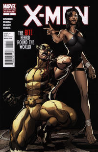 Cover Thumbnail for X-Men (Marvel, 2010 series) #3 [Second Printing]