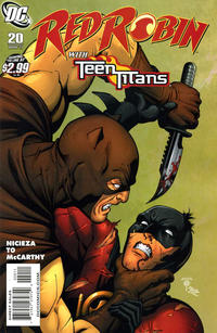 Cover Thumbnail for Red Robin (DC, 2009 series) #20