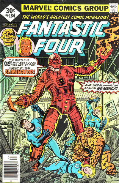 Cover for Fantastic Four (Marvel, 1961 series) #184