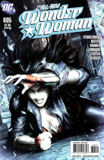 Cover for Wonder Woman (2006 series) #605 [Alex Garner Variant]
