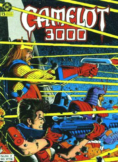 Cover for Camelot 3000 (Zinco, 1984 series) #7