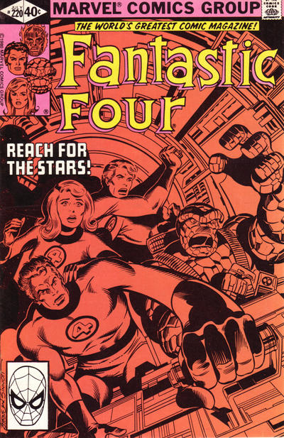 Cover for Fantastic Four (Marvel, 1961 series) #220 [direct edition]