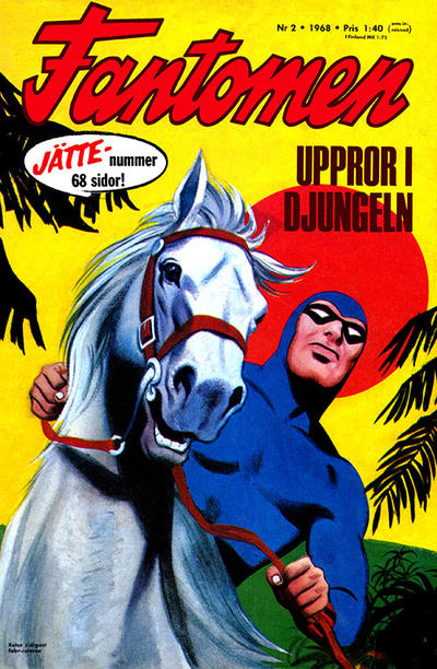 Cover for Fantomen (1963 series) #2/1968