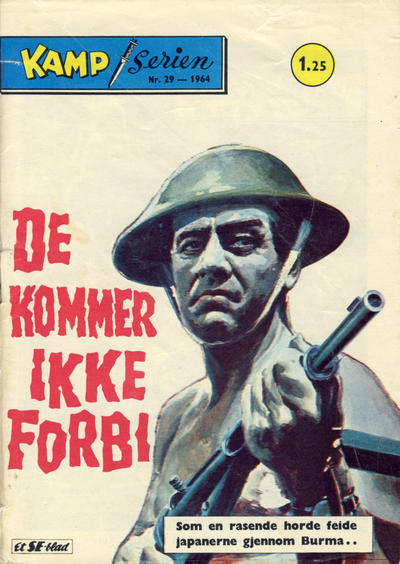 Cover for Kamp-serien (1964 series) #29/1964