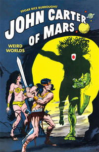 Cover Thumbnail for Edgar Rice Burroughs' John Carter of Mars: Weird Worlds (Dark Horse, 2011 series) #[nn]