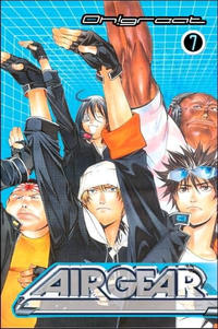Cover Thumbnail for Air Gear (Random House, 2006 series) #7