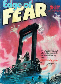 Cover Thumbnail for Edge of Fear (Gredown, 1984 series) #[nn]