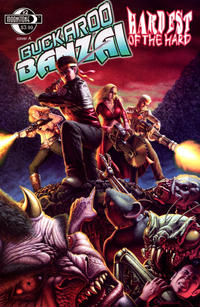 Cover Thumbnail for Buckaroo Banzai Hardest of the Hard (Moonstone, 2010 series) #2