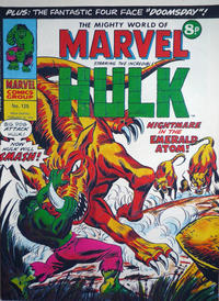 Cover for The Mighty World of Marvel (Marvel UK, 1972 series) #125